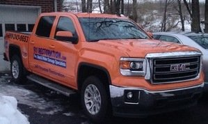 Commercial Property Damage Restoration Truck